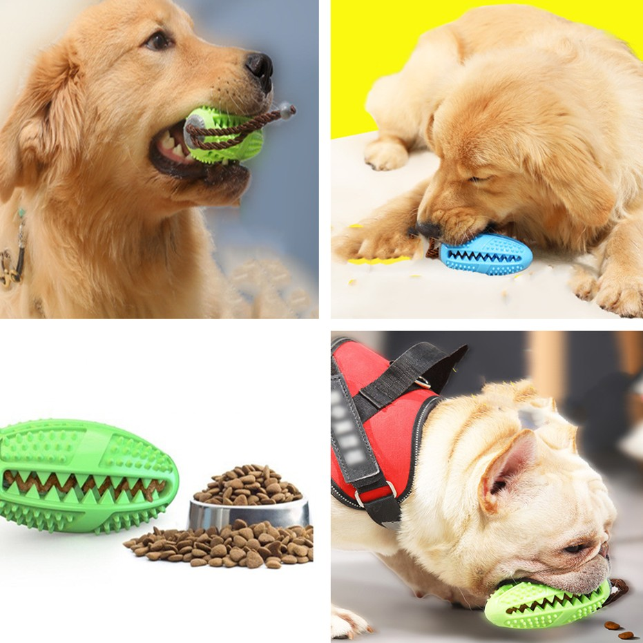 Dogs Teeth Cleaning Toys Pet Popular Toys Rubber Ball Toy Funny Interactive Elasticity Clean Teeth Playing Moral Balls Dogs