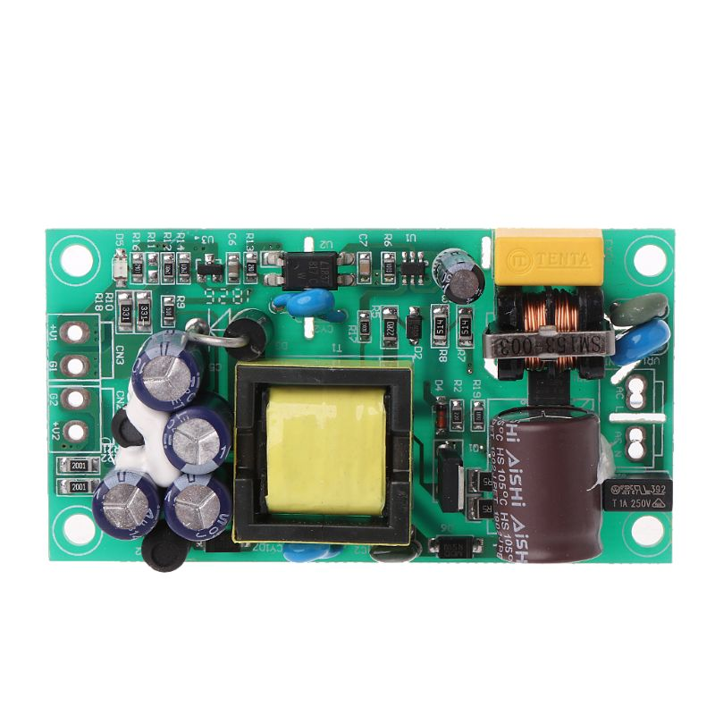 Input AC85-265V Dual Out AC to DC Power Module Supply Isolation Output 24V/5V
