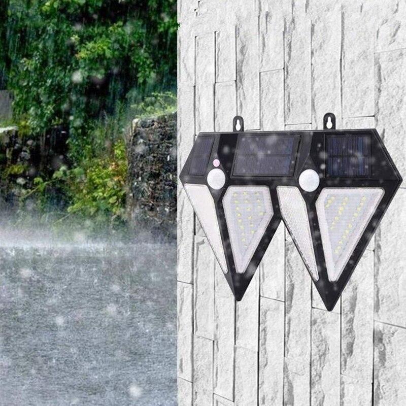 Solar Lights Outdoor Solar Wall Lights Diamond Energy Sensor Light For Landscape Garden Garden Light