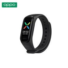 OPPO-pulsera inteligente con Pantalla AMOLED, accesorio deportivo resistente al agua con Bluetooth, 2 colores, Original