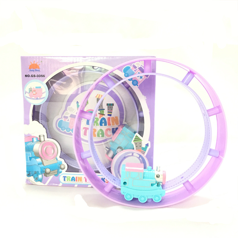 Manufacturers Direct Selling Winding Camera Track Rolling Train Rolling Circle Toy CHILDREN'S Cartoon Wind-up Toy