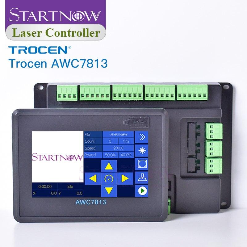 Trocen AWC7813 aggiornato AWC708S sostituire la scheda Ruida sistema di controllo CNC macchina da taglio pezzi di ricambio scheda Controller Laser CO2