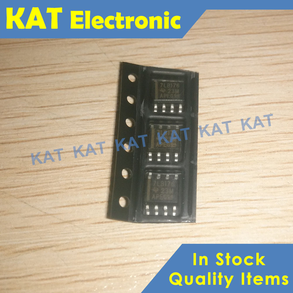 5PCS/Lot SN75LBC176DR 7LB176 SOP-8 DIFFERENTIAL BUS TRANSCEIVERS