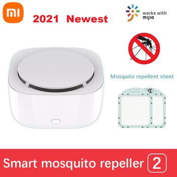 Xiaomi Mosquito repelent 2 Smart Slient nietoksyczny komary zabójca USB akumulator 135 noc praca z aplikacją Mijia tanie i dobre opinie CN (pochodzenie) 2021 Newest Xiaomi Mijia Smart Prawie gotowy