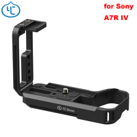 YC Onion L Bracket Quick Release Plate for Sony Alpha A7R Mark IV A7R4 Camera Adjustment Vertical Shoot Aluminum Alloy 1/4 Screw