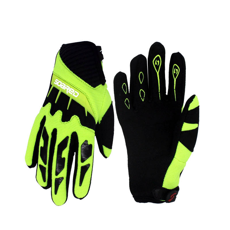 Children Skating Gloves Full Finger  Quick-release Adjustable Handwear Outdoor Sportswear Accessories 3-12 Years Old
