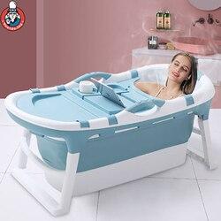 Baignoire bébé adulte seau de bain pliant isolation thermique seau de bain enfants baignoire Portable bébé baignoire piscine