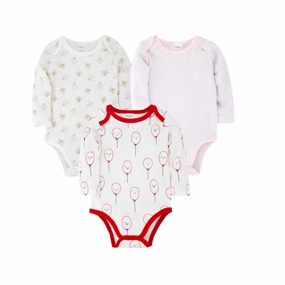 Honeyzone Baby Bodys 3 teile/los 100% Baumwolle Infant Körper Langarm Cartoon Kostüm Overall Für Baby Jungen Mädchen Bodys