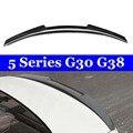 Спойлеры крыльев заднего багажника из углеродного волокна для BMW 5 серии G30 G38 F90 M5 спойлер 530i 540i крылья заднего багажника из углеродного воло...
