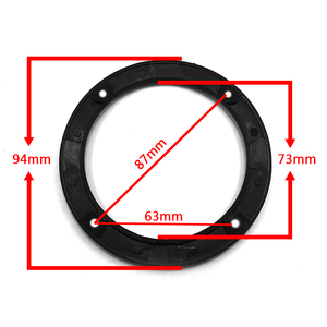 Image 3 - 3 inch Colorful Replacement Round Speaker Protective Mesh Net Cover Grille Circle Metal Audio Speaker Accessories