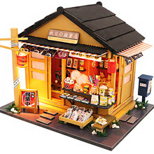 2021 NEW DIY DollHouse Wooden Doll Houses Miniature Dollhouse Furniture Kit Toys for children New Year Christmas Gift Casa