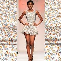 Stretch Silk crepe satin plain Silk Fabric Silk Dress Cheongsam High Quality Fashion Designer Fabric Naturally Breathable