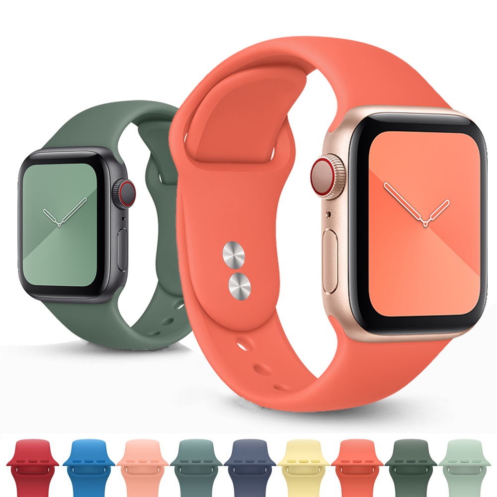 Strap For Apple Watch 5 Band 44mm 40mm Iwatch Band 38mm 42mm Watchband Bracelet Pulseira Correa Apple Watch Series 5 4 3 38 44