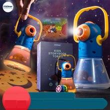 Сказочная книга фонарь ным проектором калейдоскоп детское небо