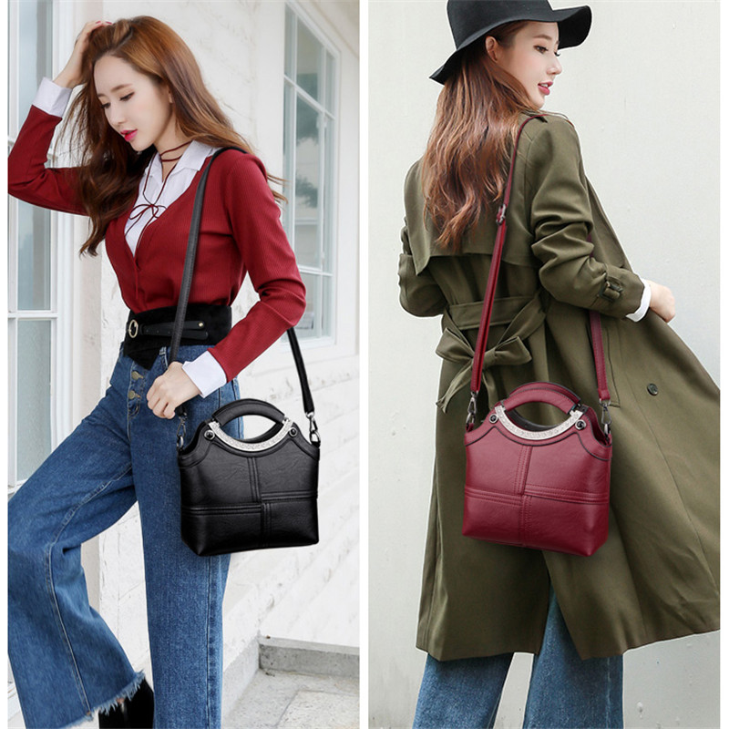Image 3 - NEW Fashion Shell women hand bags handbags women famous brands  leather handbags female shoulder cross body bag tote sac a mainsac  asac brandsac fashion