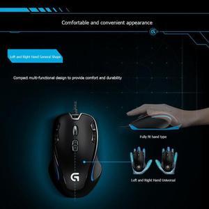 Image 4 - Logitech G300s Ambidextrous Optical Gamingเมาส์USBสาย 9 ปุ่มที่ตั้งโปรแกรมMouse2500DPI 7 สีBacklightเกมเม้าส์