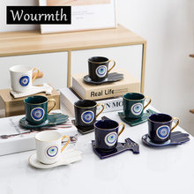 Wourmth креативная дизайнерская кофейная чашка и блюдце набор