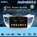Автомобильный dvd-плеер cawell px5 android10 с навигацией, Wi-Fi, bluetooth, SWC, DSP, 4 ГБ, 64 ГБ, головное устройство, радио для ix35, tucson 2015, 2017, Автомобильный gps