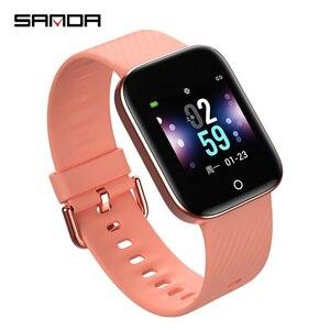 Модные спортивные светодиодный часы-браслет для мужчин и женщин, цветные силиконовые часы, женские наручные часы GiftReloj inteligente