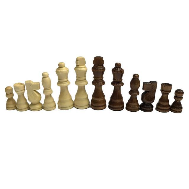 Ensemble d'échecs 32 pièces de 7.7cm, 3