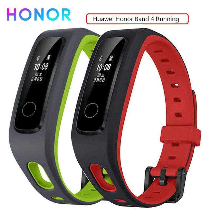 Honor Band 4 Activity Tracker Bracelet Smart Wristband Fitness Message Waterproof Sports Band Real-time  Running Version