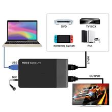 Video-Game-Capture Hdmi-Converter Live-Streaming Ezcap261m Support Xbox-One 1080P 4K