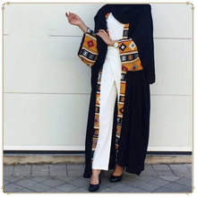Caftan de dubaï musulman vêtements islamiques Robe Abaya femmes à lacets Caftan Robe longue Hijab Robe grande balançoire Caftan Robe Kimono Jubah