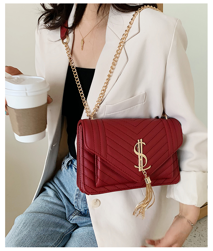 Luxury Handbags 2020 Fashion Women Leather Messenger Shoulder Bag For Daily Designer Female Crossbody Bag Lock Black Handbag