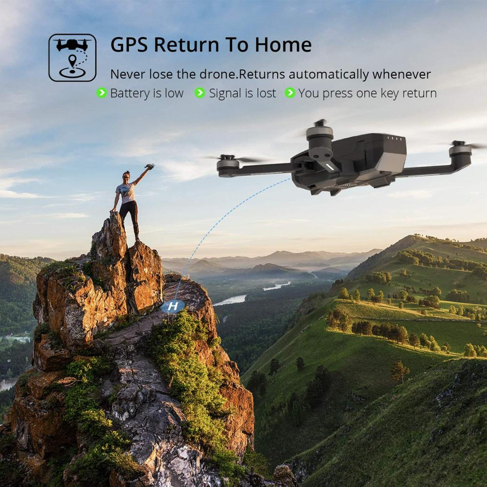 Hot DealsHoly Stone HS720 Foldable GPS Drone With 5G 4K FHD FOV 110° Wi-Fi Camera RC Quadcopter