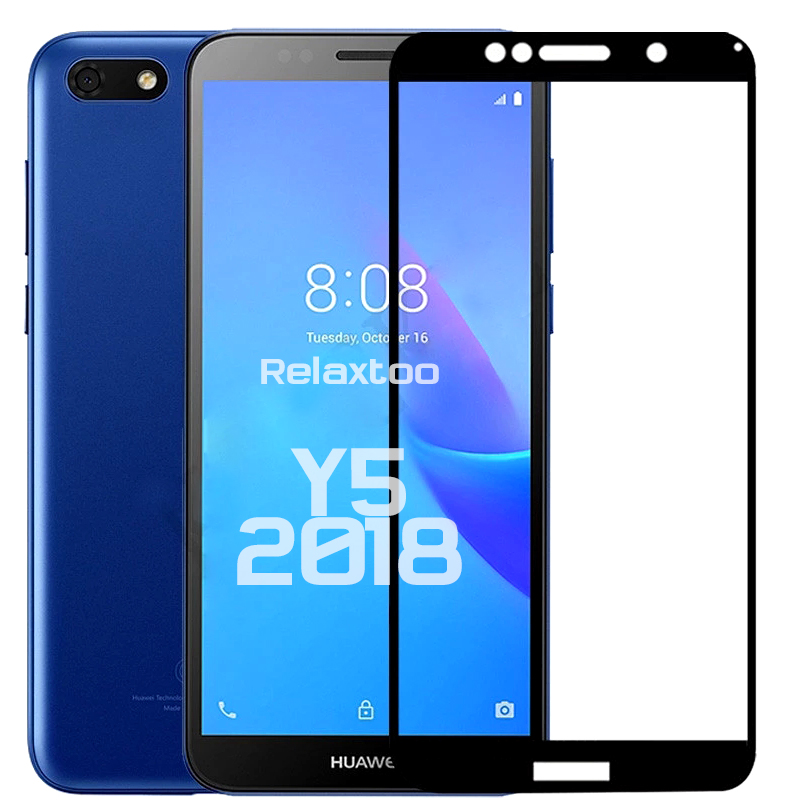 Hauwei Y5 Lite 2018 Glass Tempered Glass For Huawei Y5 Prime 2018 DRA-LX2 DUA-LX2 DRA-L01 DUA-L21 5.45'' Screen Protector Film