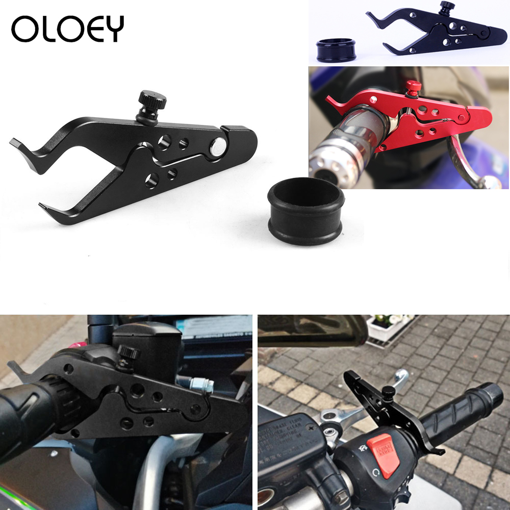 OLOEY High Quality Motorcycle Cruise Control Throttle Lock Assist Retainer Relieve Stress Durable Grip For Universal Motorcycle