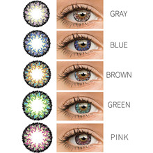 5 Colors Contact Lenses Wonderful Circle Lenses 1 Pcs Pupil Durable Eyeball Contact Lenses Pupil Eyeball For Eyes