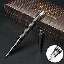 Full metal tappo A Spirale Iraurita penna stilografica 0.5 millimetri di inchiostro di lusso penna per la scrittura di Affari Ufficio caneta tinteiro Cancelleria 1065