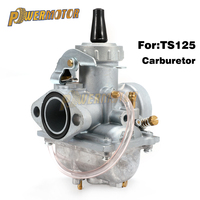 New Carburador Moto Vergaser Carb Carburetor for SUZUKI TS125 TS125N TC125 TS100 CARBURETOR Motorcycle Dirt Bike Motocross