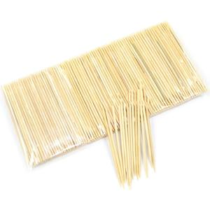 250PCS/Box Bamboo Toothpick Disposable Natural Toothpicks Family Restaurant Accessories Fruit Single Sharp Tooth Sticks Dropship