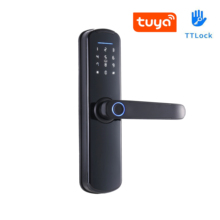TTLock Or Tuya APP Remote Control Intelligent Fingerprint Lock Support Password Code IC Card Key