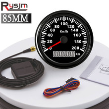 Sensor Gps Speedometer Motorcycle-Speed-Gauge 85mm Waterproof with for Car Truck SUV