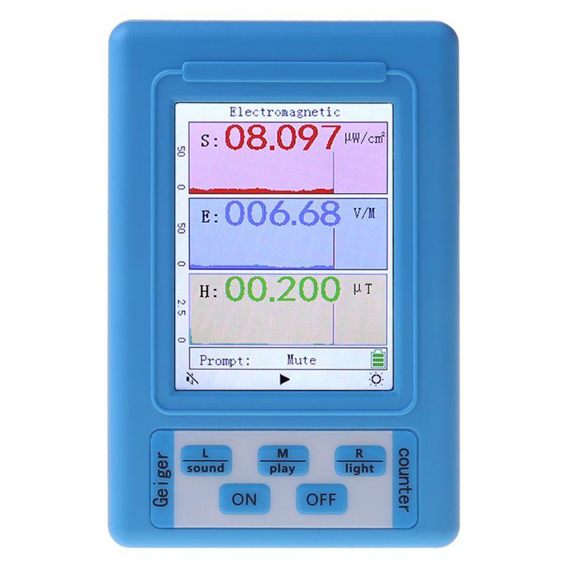Electromagnetic Radiation Detector EMF Meter Radiation Dosimeter Monitor Tester BR-9A