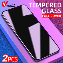 2Pcs Full Cover Tempered Glass For OPPO A9 A5 2020 A52 A72 A91 A53 A93 Screen Protector for OPPO Reno 4 3 2z R17 Protective Film