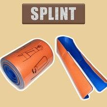 4 x 36 Inch Moldable Medical Splint rescue first aid splint roll type aluminium/mousse splint