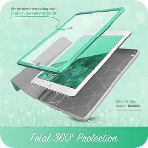 Image 3 - For iPad 9.7 Case (2018/2017) i Blason Cosmo Trifold Stand Case with Auto Sleep/Wake & Pencil Holder, Built in Screen Protector