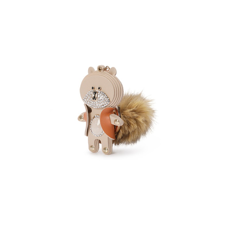 2019 Ins Cartoon Style Women Small Mini Pendant Bear Shape Cute Luggage Accessories Girls Kawaii Phone Accessories