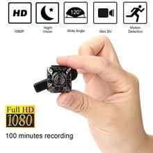 كاميرا واي فاي صغيرة SQ10 1080P HD تشغيل عن بعد فيديو كاميرا صغيرة صغيرة كشف الحركة للرؤية الليلية مراقبة المنزل الأشعة تحت الحمراء ليلة