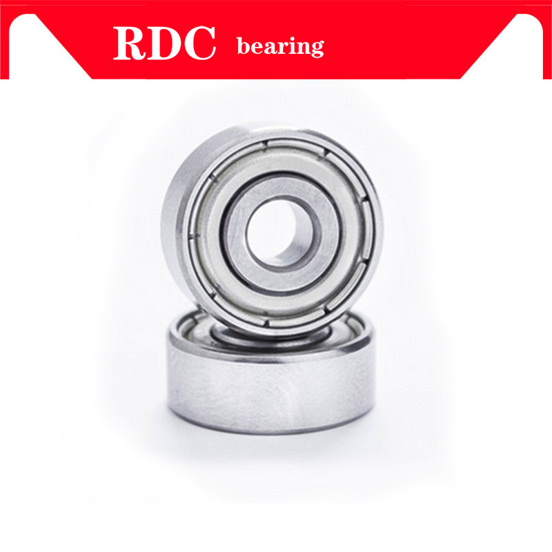 Free Shipping 627ZZ Bearing 627 2RS 2PCS 7*22*7 Mm Miniature 627Z 7X22X7 Ball Bearings 627 ZZ