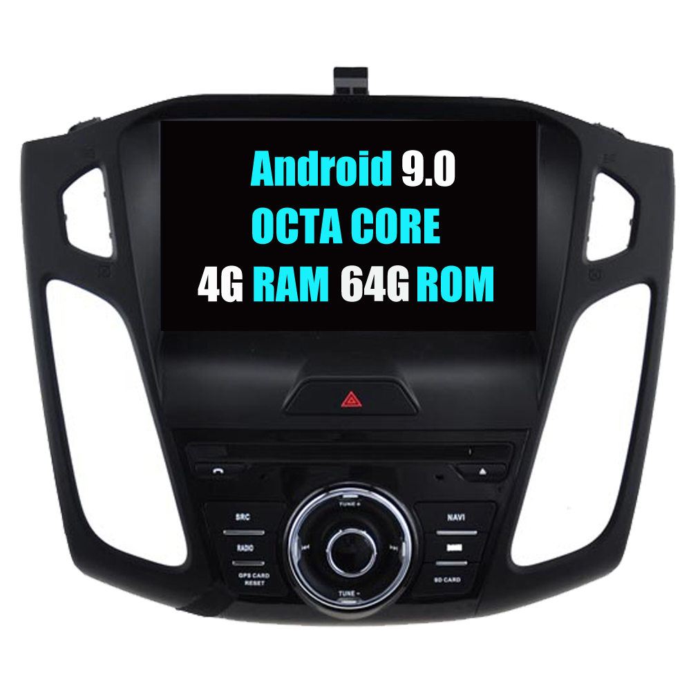 For <font><b>Ford</b></font> For <font><b>Focus</b></font> 2015 2016 <font><b>2017</b></font> Android 9.0 Autoradio Car Radio Stereo DVD GPS <font><b>Navigation</b></font> Media Multimedia Audio Video Player image