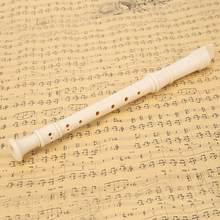 Soprano recorder clarinete abs alemanha tipo 8 buracos flauta portátil estudante iniciante para amantes da música que jogam acessórios
