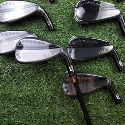 Golf clubs 113 XF GEN2 irons golden Diamond Paint forged iron 3-G a set of 9 pieces R / S send headcover free shiping