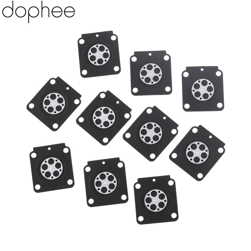 Dophee 10pcs Carburetor Rebuild Kit Metering Diaphragm Gaskets For ZAMA A015053 STIHL FS38 Trimmer Brush Cutter Spare Parts FS55