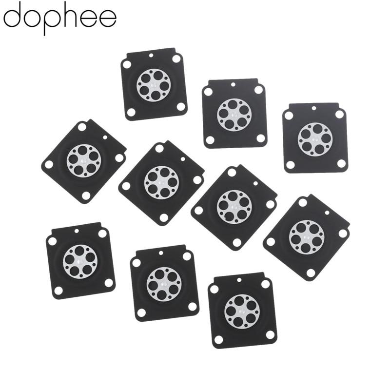 Dophee 10pcs Carburetor Rebuild Kit Metering Diaphragm Gaskets For ZAMA A015053 STIHL FS38 Trimmer Brush Cutter Spare Parts FS55