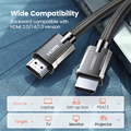 Ugreen HDMI 2.1 Cable for Xiaomi Mi Box HDMI Cable 8K/60Hz 4K/120Hz 48Gbps Digital Cables for PS5 PS4 HDMI Splitter 8K HDMI 2.1